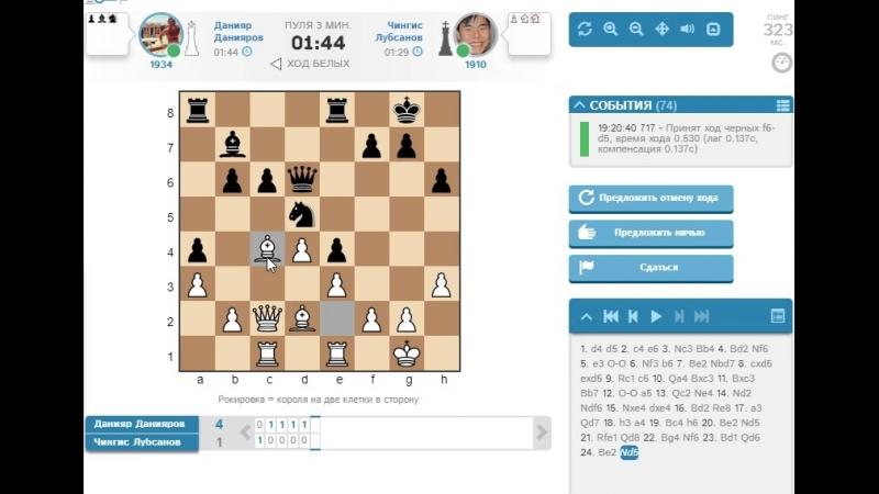 Данияр против Чингис Лубсанов