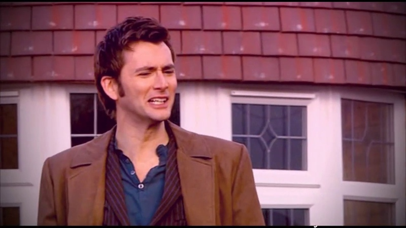 Tenth Doctor feat. Anthony Crowley Live forever Good Omens and Doctor Who crossover