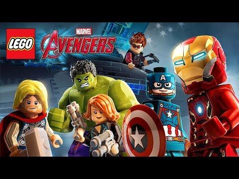 LEGO MARVEL Avengers - ЖЕЛЕЗНЫЙ ЧЕЛОВЕК, ХАЛК, КАПИТАН АМЕРИКА