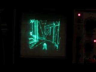 Quake на осциллографе / Quake on an oscilloscope