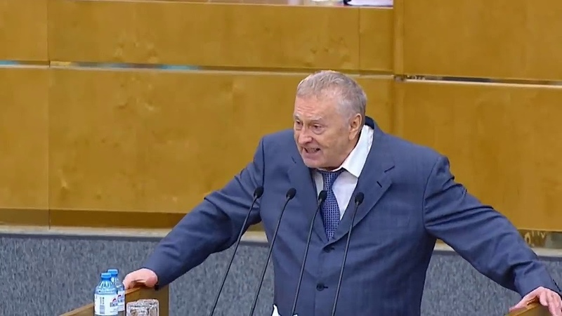 Georg Brat. Жириновский пригрозил революцией Путину В В