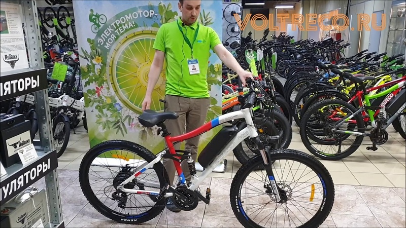 Электровелосипед двухподвес Eltreco FS 900 New 27.5 Новинка 2020 Обзор Voltreco.ru