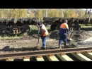 Ремонт железнодорожного переезда №22 Учалинским ГОК