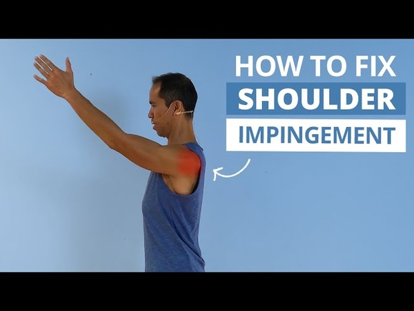 SHOULDER IMPINGEMENT 8 Exercises and Strategies to Treat it For Good