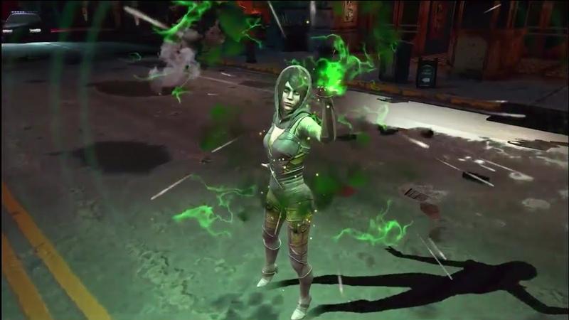 Injustice 2 Mobile Enchantress Gameplay Trailer Инджастис 2 Мобайл Чаровница Геймплей Трейлер