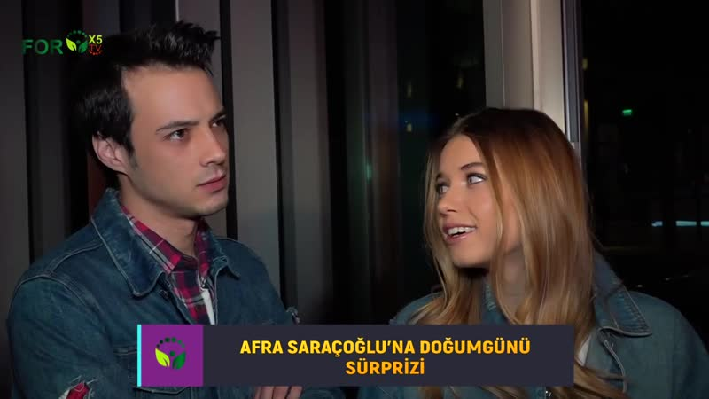 Afra Saraçoğlu ve Mert Yazıcıoğlu