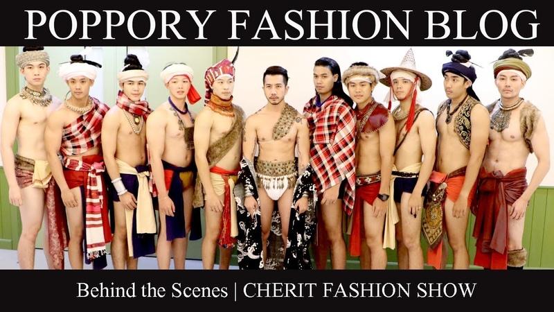 เบื้องหลังนายแบบสุดแซ่บ Behind the Scenes CHERIT FASHION SHOW VDO BY POPPORY