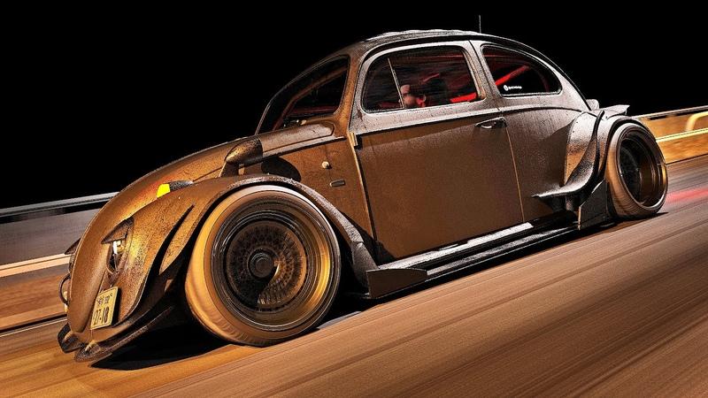 Volkswagen FuscaBeetle RWB | Tokyo Nights