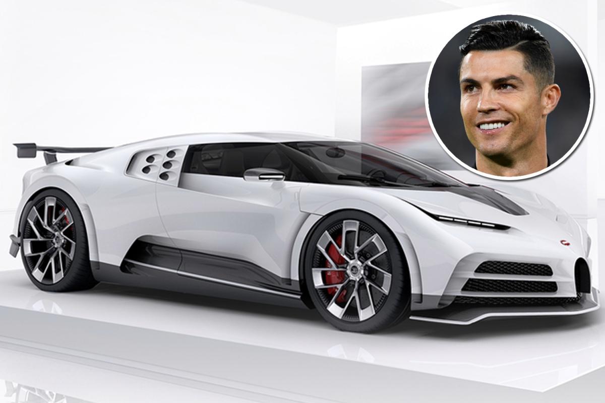 Криштиану Роналду приобрел Bugatti Centodieci