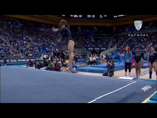 She Scored a PERFECT 10. Kaitlyn Ohashi Split Bounce 🏆🥇 winner perfect gymnastics