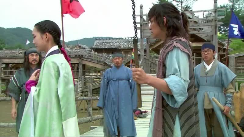 Эпизод из дорамы Воин Пэк Тон Су 15 серия Я изменю твою судьбу