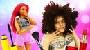 Игры Салон красоты для девочек - Куклы Барби прически и макияж - Барби мультик