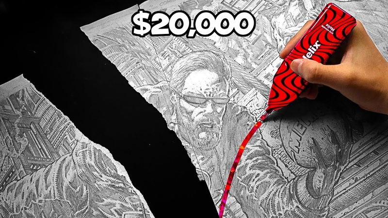 RIP $20 000 Pewdiepie Art ZHC