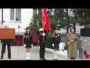 Знамя Победы! Наши на высоте, вынесли красиво, стояли, как кремлёвские курсанты.