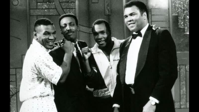 ♚ Muhammad Ali, Mike Tyson and Sugar Ray Leonard on the Arsenio Hall Show