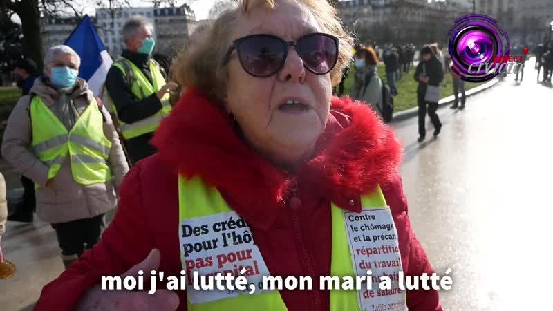 Témoignage dune femme de 83 ans Si je vois Macron je le fais travailler dans un champ quil tire la langue comme nous