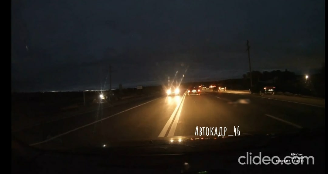 Курянина, переходившего дорогу в неположенном месте, переехали несколько машин