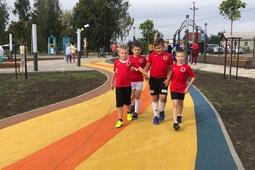 Парк комплекса «Олимпийский» в Тербунах преобразился в рамках нацпроекта