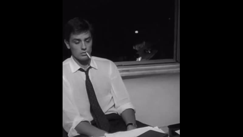 Alain Delon in L'Eclisse 1962