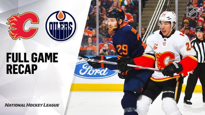 НХЛ - регулярный чемпионат. Матч №40. «Эдмонтон Ойлерз» - «Калгари Флэймз» - 1:5