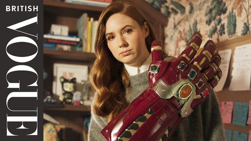 Inside Avengers Star Karen Gillan's Home For A Perfect Night In British Vogue