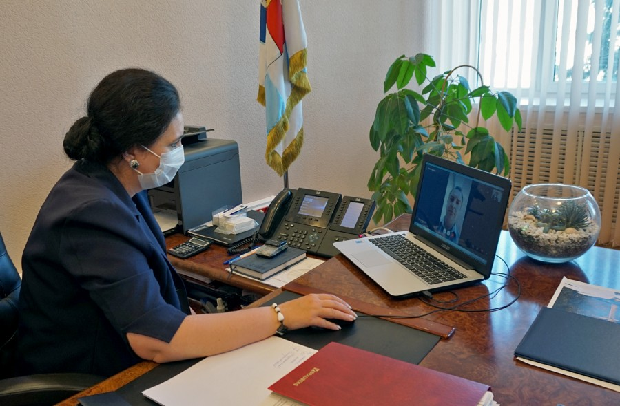 В Таганроге прошел очередной интерактивный прием главы города