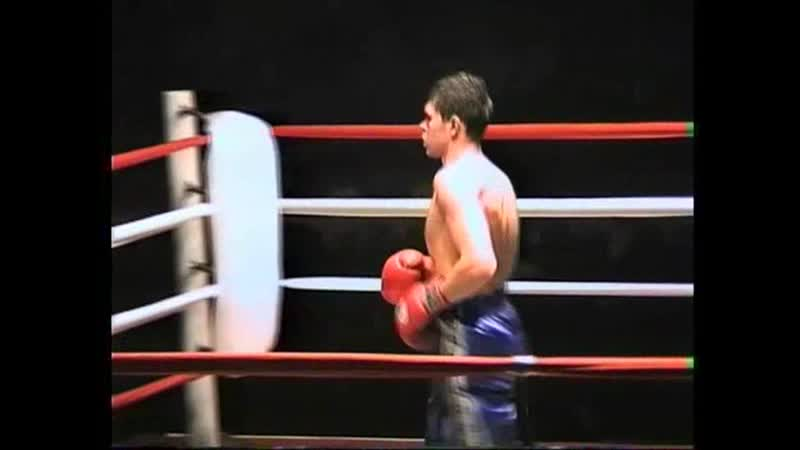 Константин Глухов Латвия-Роман Красников 2000 год (2 проф бой между соперниками).