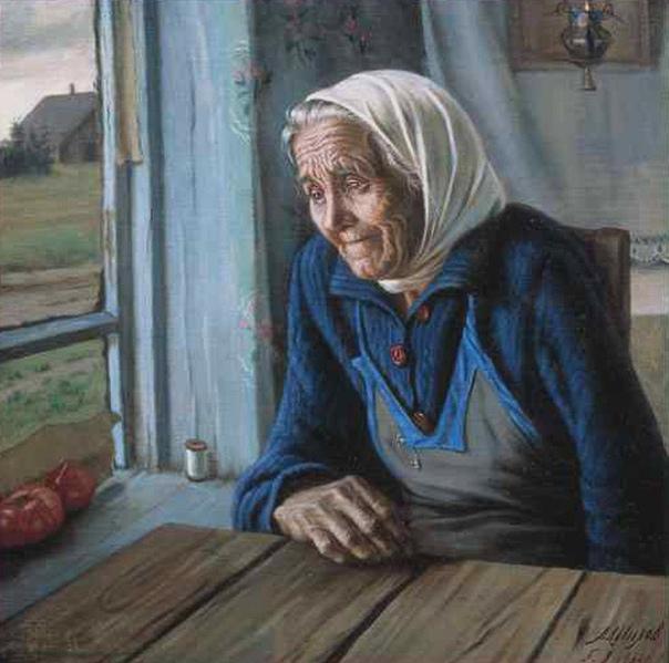 Моя бабушка не ходила в церковь Она подолгу сидела по вечерам, закрыв глаза, и беззвучно разговаривала с тем, в кого верила И помогала, помогала, помогала Однажды я спросила её И она ответила В