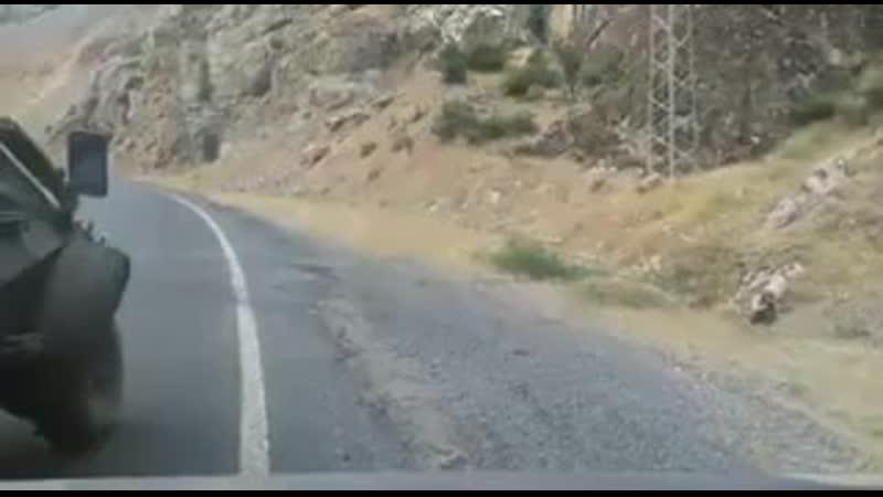 Видео боя между турецкими военными и РПК на блокпосту Чукурджа в провинция Хаккари, Турция (1)