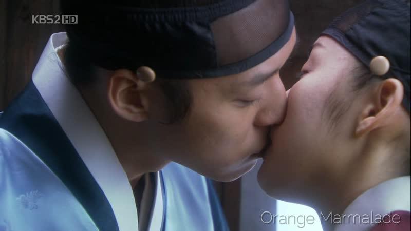 Отрывок из дорамы «Скандал в Сонгюнгване» (Поцелуй) 17 серия. Озвучка GREEN TEA