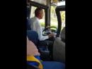 Нежная коробка передач Водитель автобуса переключает передачи 1 mp4