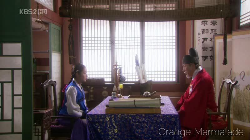 Отрывок из дорамы «Скандал в Сонгюнгване» (Ты останешься с моим сыном?) 20 серия. Озвучка GREEN TEA