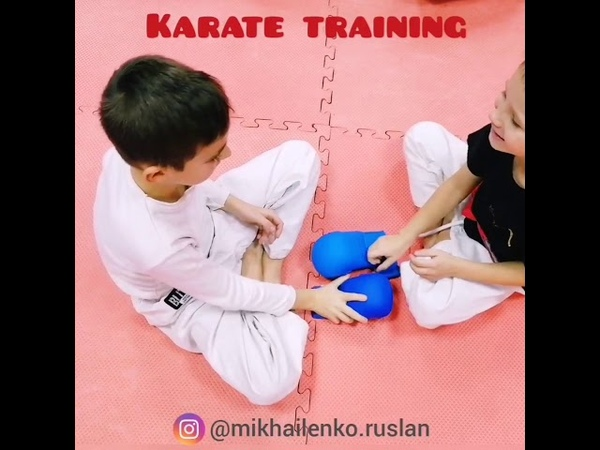 🔥🔥🔥Много интересных упражнений для тренировки каратэ Karate training 🔥🔥🔥