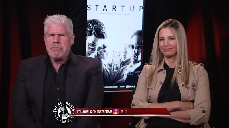 Ron Perlman and Mira Sorvino on The Red Booth