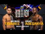 The Ultimate Fighter 27  FINALE Israel Adesanya vs. Brad Tavares