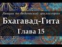 15 Бхагавад-Гита. Глава 15