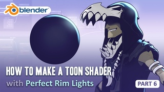 Toon Shader Tutorial - Part 6 - How to Get Perfect Rim Lights (Blender 2.8/EEVEE)