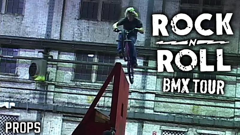 Props BMX Road Fools Rock n Roll Tour 1 Props Visual Full Movie Adam Banton Matt Beringer