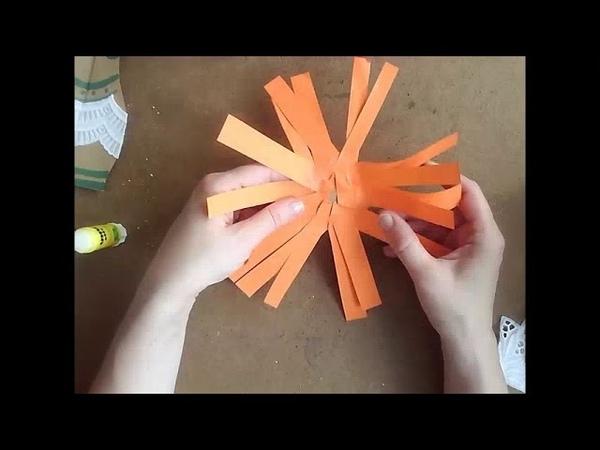 Творчество с детьми от 5 до 9 Веселый подсолнух