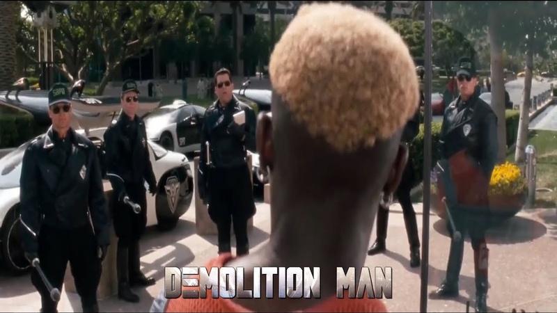 Demolition Man - Phoenix vs Cops [HD]