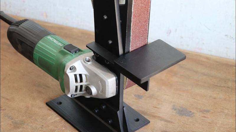 How To Make A Angle Grinder Belt Sander Angle Grinder Attachment