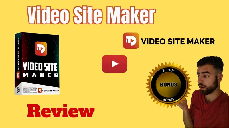 Video Site Maker Review GET THESE VIDEO SITE MAKER BONUSES