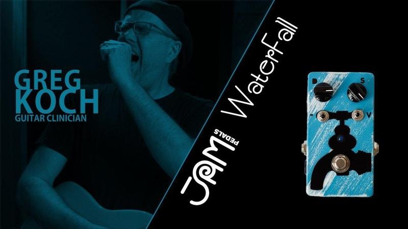 JAM pedals WaterFall video demonstration by Greg Koch