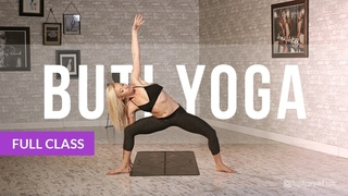 BUTI YOGA with Bizzie Gold - Abdominal Activation + Spiral Structure Technique (Full Class)