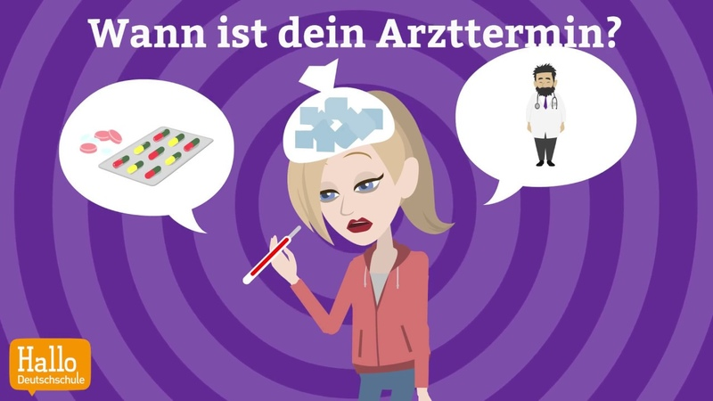 Deutsch lernen mit Dialogen Lektion 8 Wie oft machst du Sport? Aussprache ie und ei