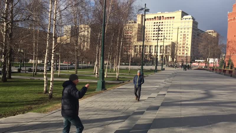 Александровский сад 22 03 2020