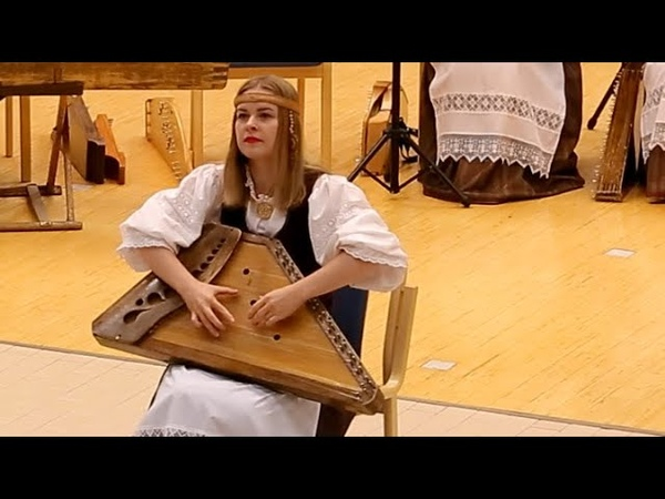 Cross-Border Kantele Concert piece Kalevala rune performed by Elena Ankhimova, Ensemble Kantele