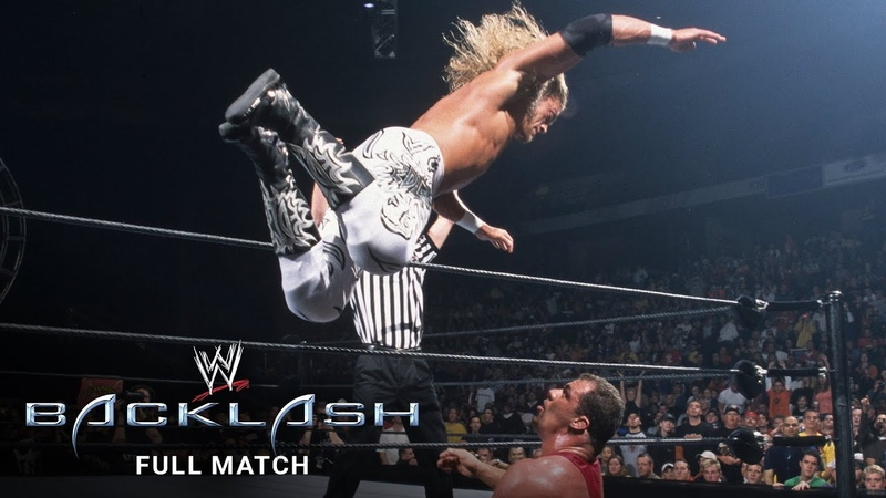 FULL MATCH Edge vs Kurt Angle WWE Backlash 2002