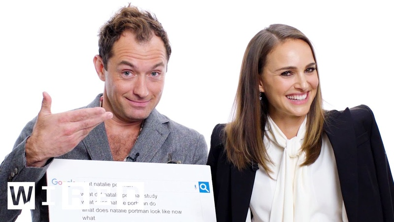 Natalie Portman Jude Law Answer the Web's Most Searched Questions WIRED
