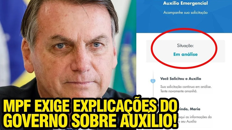 MPF EXIGE EXPLICAÇÕES DO GOVERNO SOBRE AUXILIO
